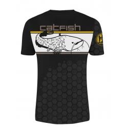 T-shirt Linear CatFishing