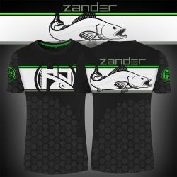 T-shirt Linear Zander