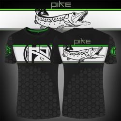 T-shirt Linear Pike