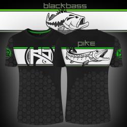 T-shirt Linear Bass